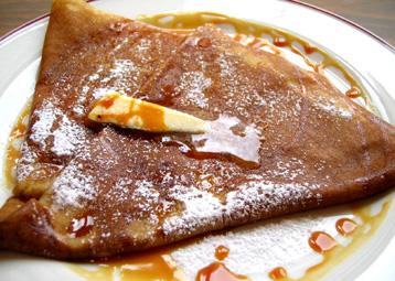 『ガレットリア』の塩バターキャラメルクレープ