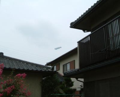 謎の飛行船