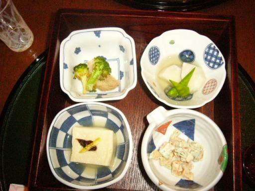 蕎麦懐石1