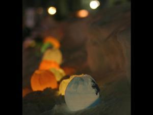 「アイスキャンドル」~小樽雪あかりの路2005