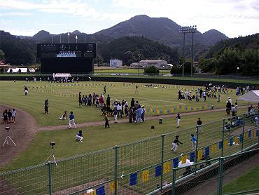 ニュースポーツフェスティバル 2008 in 美祢市民体育祭