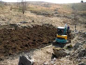 ドリーネの掘り起こし-2