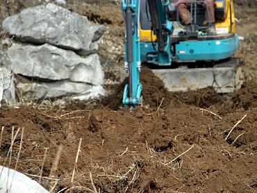 ドリーネの掘り起こし-4