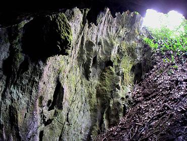 寺山の穴-2