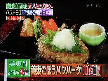 【第4位】  『美東ごぼうハンバーグ』-1