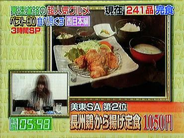 【第2位】  『長州鶏から揚げ定食』