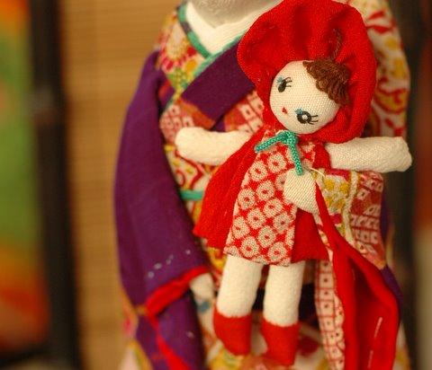 文化人形♪