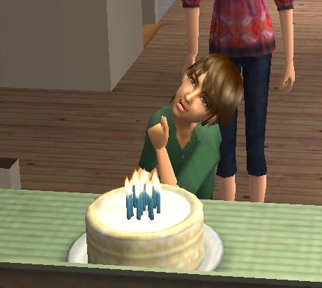 ケビンの誕生日