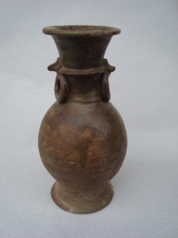 2008 12 17 美濃鉄釉花瓶