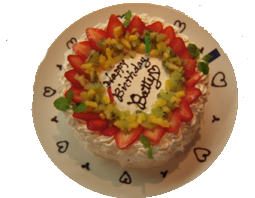 22nd cake