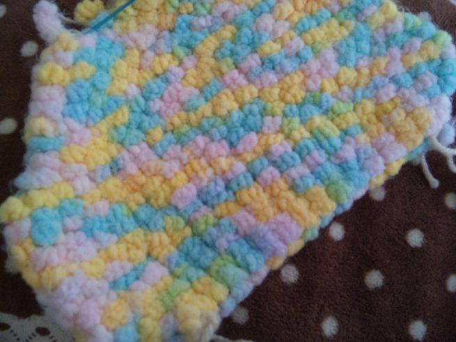 カラフル毛糸編み編み
