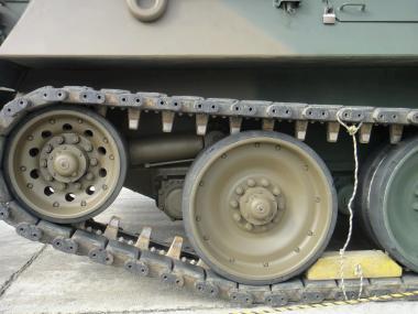 78式戦車回収車足回り