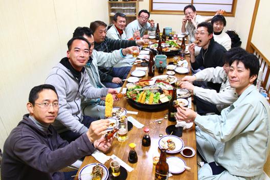 村上市 楽しい 飲む 宴会 いそべ食堂