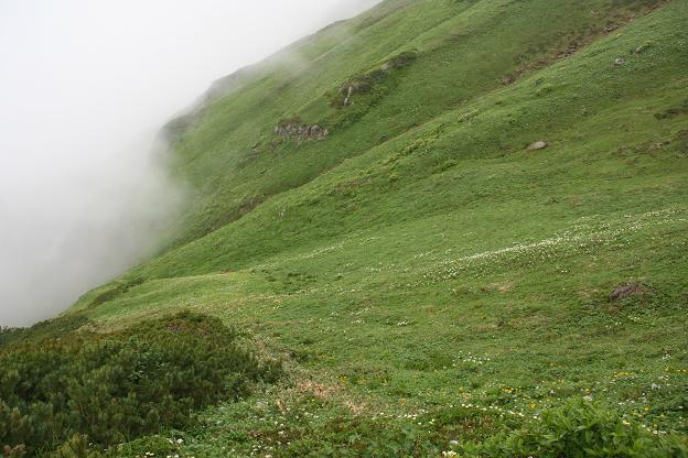 富良野岳にて