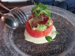 ホタテとアボガドのサラダ?