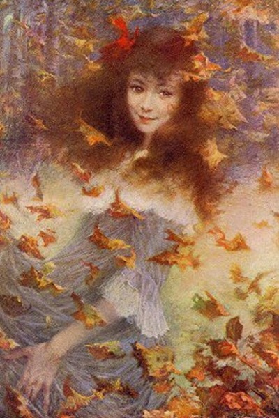 Autumn Wind Suzanne Lévy-Dhurmer