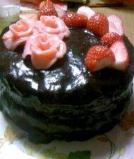 母の日ケーキ
