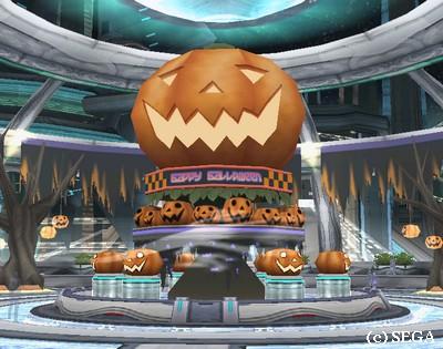 かぼちゃはあるけどイベントがない・・・