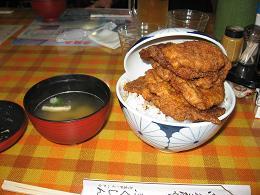 4月19日ソースカツ丼
