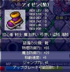 アイゼン(紫)