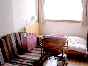 入院した部屋