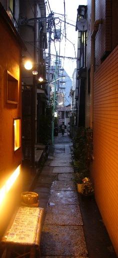 神楽坂の脇道