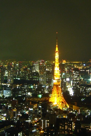 東京タワーfrom六本木ヒルズ