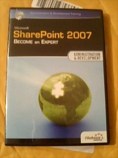 Sharepoint用自習DVD教材