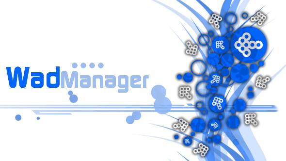WAD Manager v1.4 Bluearrowsbannervo9