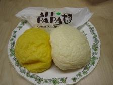 冷やして食べるクリームパン