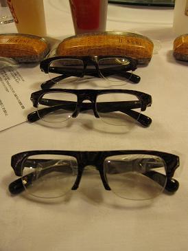 I Ken 眼鏡が3個も2