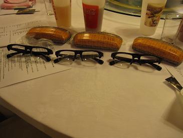 I Ken眼鏡が3個も・・