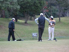 11月ゴルフだよん