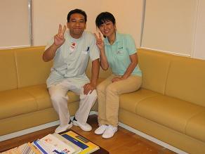 鶴田先生と1111