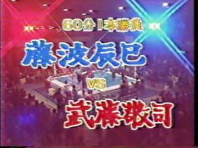 藤波辰巳vs武藤敬司