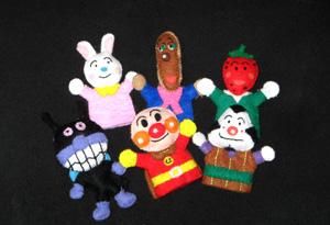 指人形と人形