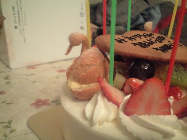 090106実織誕生日ケーキ2