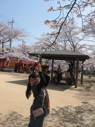 IMG_0004桜と実織