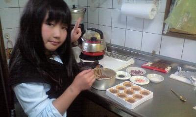 090506実織パパの誕生日チョコ作り2