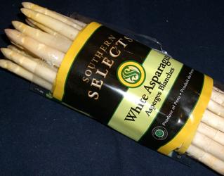 white asparagas