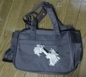 既に年季が入っているように見える、1回しか使っていないバッグ(^^;