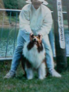 若き日のマコと母