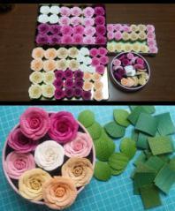 薔薇と葉っぱ