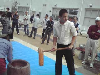 科技高祭り#32363;田餅つき081025_0914~01