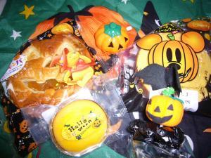 08.10.31ハロウィンお菓子