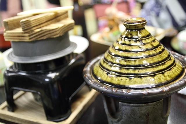 タジン鍋と釜めし