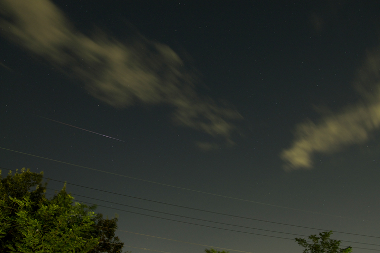 20070813 流れ星 ペルセウス座流星群