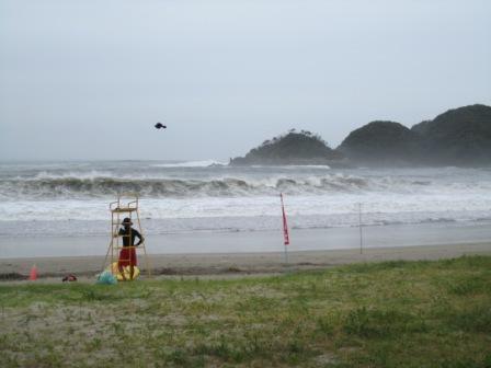 弓ヶ浜台風1