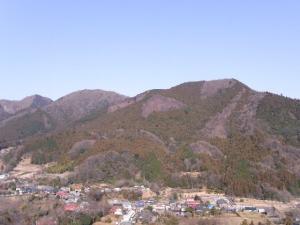 ハゲ山からの眺め クリックで拡大