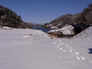 土山峠から宮ヶ瀬湖 クリックで拡大